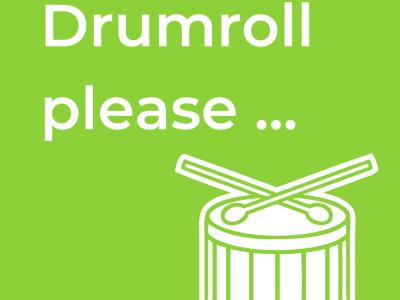 Drumroll please ...