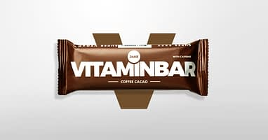 Introducing the new </br> Vitaminbar Coffee Cacao